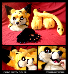 Fursuit Partial Nynx 1.0 by Ninpin