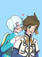Sorey x Mikleo by BlueStarNights
