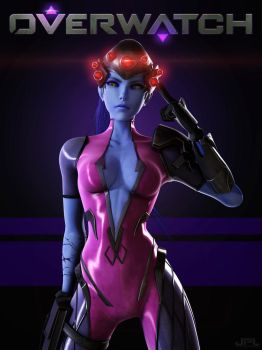 Overwatch Widowmaker by JPL-Animation