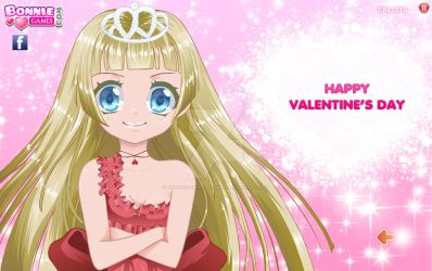 HAPPY VALENTIN'S DAY by princess-sweetflower