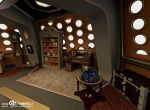 Custom TARDIS Console Room mark 3 - Library side by ginovanta