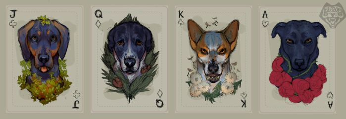 playing cards WIP by babezord