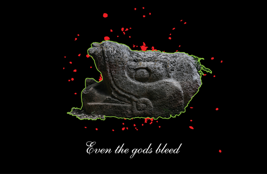 EVEN THE GODS BLEED by ARTHURCK
