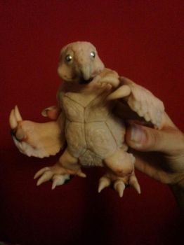 Semi realistic Squirtle sculpture. by Miss-Yazriel