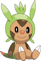 Chespin by sicklequill8384