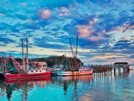 Shem Creek - HDR by Carise
