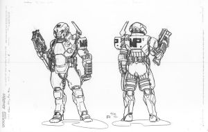 Terran Commonwealth Military Police by mikecharles