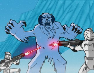 Wampa Attack!! by DarkSunProductions