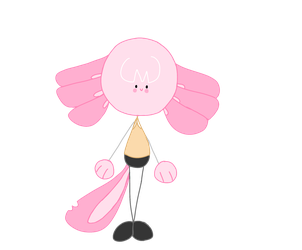 I drew pink boi by Luciauniverse