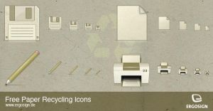 Recycling Icons by ergosign
