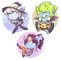Wow Chibis by silverteahouse