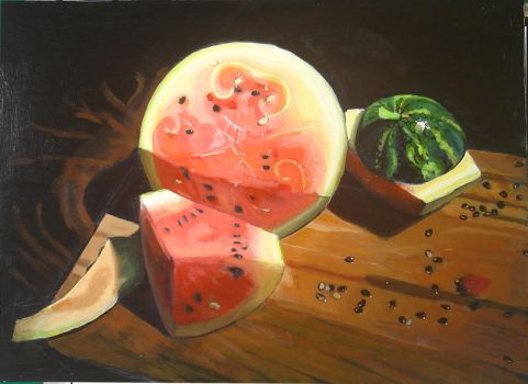 My Melons by alanbecker