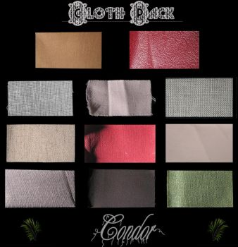 Cloth Textures Pack by The-Condor