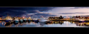 Fremantle Fishing Boat Harbour by Furiousxr