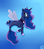 MLP The Movie - Princess Luna SeaPony by liniitadash23