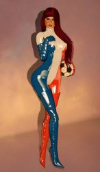 Red, White and Les Bleus! by EthereaS