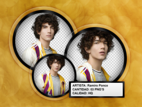 RAMIRO SL 3|PACK PNG by ThelightartOFC