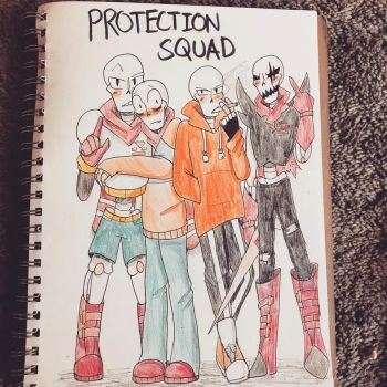 Personal Protection Squad by Sheepaleepz