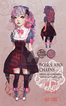 Roses and chains adopt #1 {OPEN} by kurosoge