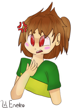 Pineapple Chara is offended by MintyGold