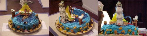 Lighthouse Cake by DavisJes