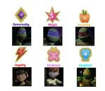 TMNT 2012: The Elements Of Harmony by MiraculousLover22