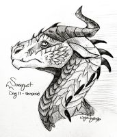 Smaugust 2018 Day 11 - Unimpressed  by Nightwing042