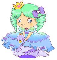Princess Amelia - Contest Entry by CloverWing