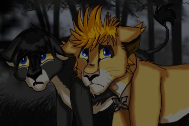 Roxas and xion lost by Silverkey101
