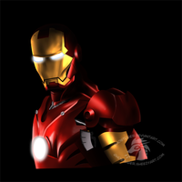 Iron Man by GhostLiger