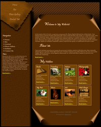 Personal Page Template by Solemnity111