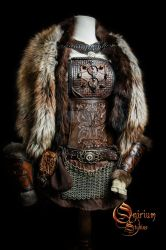 Viking inspired female set by Deakath