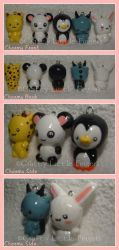 Cellphone Charms by craftylittlefingers