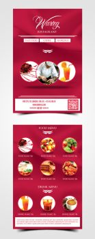 Warteg Restaurant Flyer by pascreative