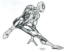 Spidey Leaping by FanBoy67