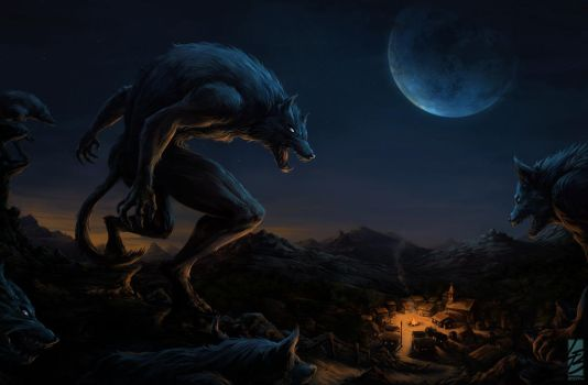 Werewolf Attack (New version 2014) by LauraBevon