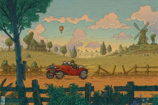 Sunday Drive - Colour by TomExton