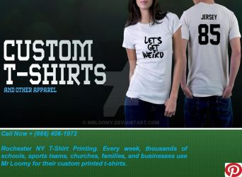 Design Custom T-Shirts Rochester NY - Mrloomy by mrloomy