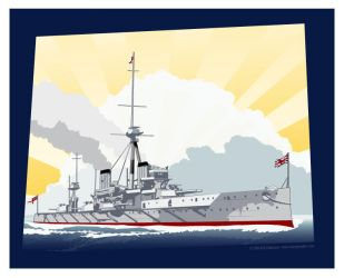 HMS Dreadnought by MercenaryGraphics
