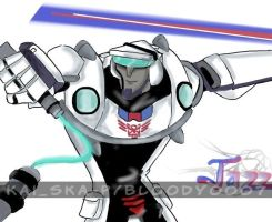 JAZZ ANIMATED Transformers by Bloo-DKai12