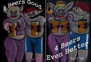 Two Beers Good by marcony