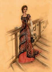 Rose's Dinner Dress | Titanic by FashionARTventures