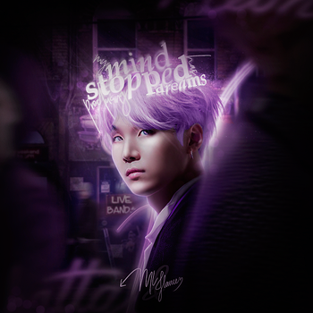 Suga from BTS / My Mind by designML
