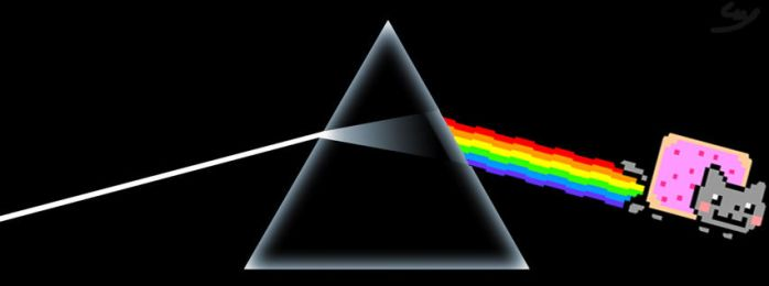 Dark Side of the Nyan by GuyBigmac