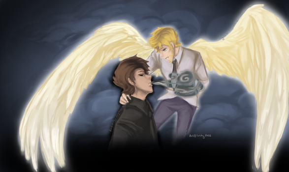 SPN - Angels and Demons by Kirrw