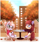 Cafe Talk (YCH Complete 2) by Naughty-Savage
