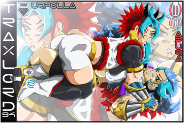 Urpolla--Apura (DBZ Hottest Fusion's Card) by TraxLord94