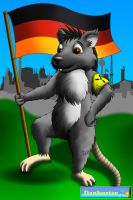 Art Trade - Rick the Berlin City Rat by DCLeadboot