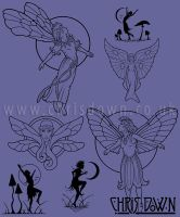 Selection of Fairies by Dysis23A