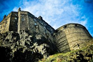 Edinburgh Castle by B-Tek